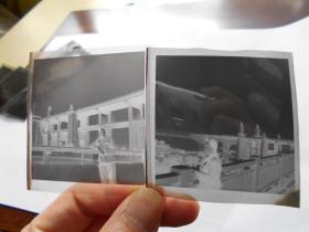 老底片【70年代,女青年在南京长江大桥参观,6张】