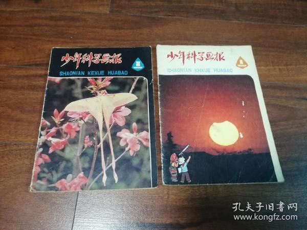 少年科学画报1980年1,2两期合售