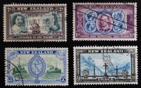 新西兰邮票-----人文历史(信销票)