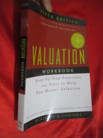 Valuation Workbook:Step-by-Step Exercises and Tests to Help You Master Valuation(FIFTH EDITION) 16开