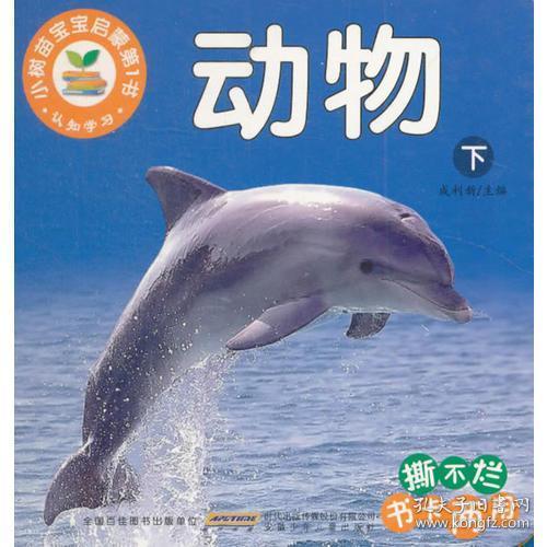 小树苗宝宝启蒙第1书 认知学习(下)动物