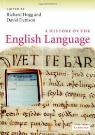 A History Of The English Language /Richard M. Hogg (editor)