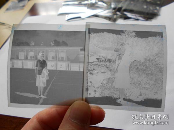 老底片【70年代,女青年在韶山参观,16张】