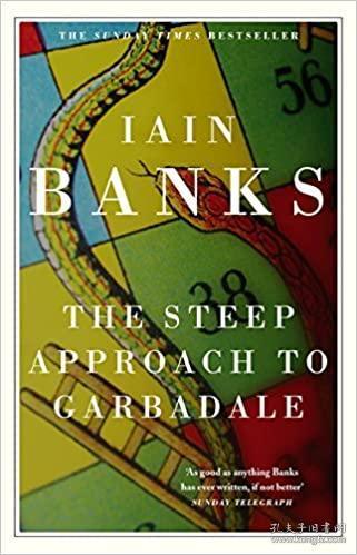 英文原版书 The Steep Approach to Garbadale   Iain Banks (Author)