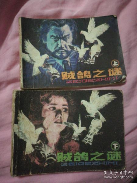 连环画:贼鸽之谜(上下)