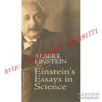 Einstein's Essays in Science
