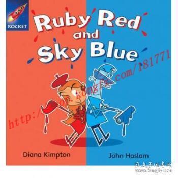 【进口原版】Rigby Star Independent Blue Reader 4: Ruby R...