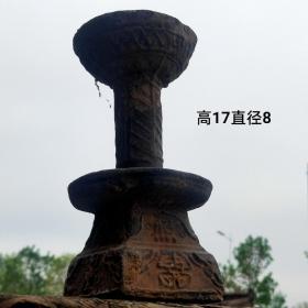 汉代陶灯,高年份老货,保存完整,千年文化流传千古,收藏绝品。