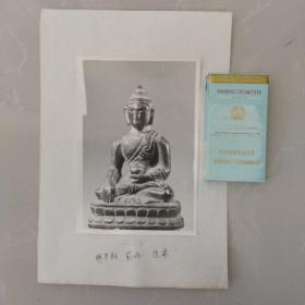 老照片~文物机构流出,明代佛像