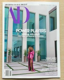 AD ARCHITECTURAL DIGEST建筑辑要2021年3月美国建筑设计英文杂志