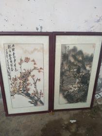 陈鹤字画(两幅合售)