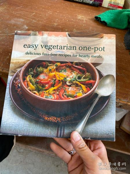 Easy Vegetarian One-pot: Delicious Fuss-free Recipes for Hearty Meals