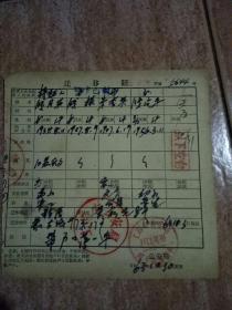 1963年迁移证(21)