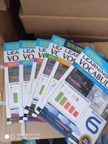 新加坡SAP Learning Vocabulary 1-6年级 学习系列 词汇训练练习册 6册套装