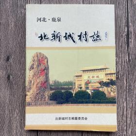 河北鹿泉北新城村志