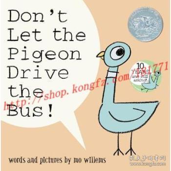 【进口原版】Don't Let the Pigeon Drive the Bus!