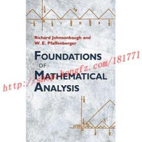 【进口原版】Foundations of Mathematical Analysis