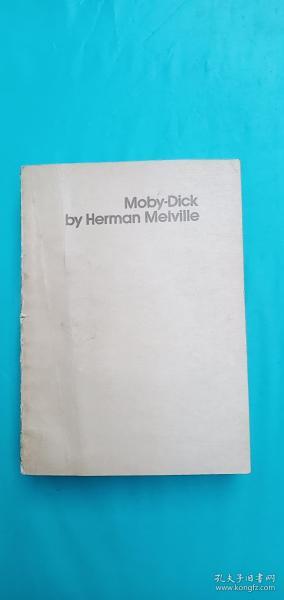 Moby Dick(大白鲸) 英文原版