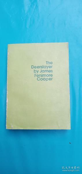 The Deerslayer by James Fenimore Cooper[杀鹿者]英文版
