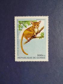 外国邮票  几内亚邮票  长尾猴(无邮戳新票)