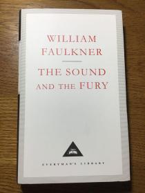 The Sound and The Fury 喧哗与骚动 William Faulkner 威廉·福克纳 Everyman's Library 人人文库 全网最低价包邮