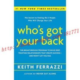 【进口原版】Who's Got Your Back: The Breakthrough Progra...