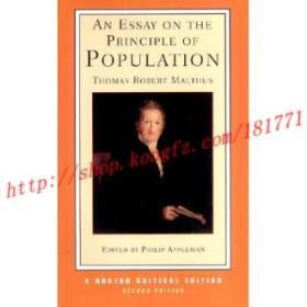 【进口原版】An Essay on the Principle of Population, Second...
