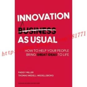 【进口原版】Innovation as Usual: How to Help Your People...