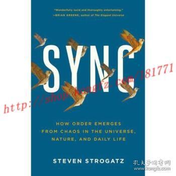 【进口原版】Sync: How Order Emerges from Chaos in the Un...