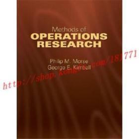 【进口原版】Methods of Operations Research