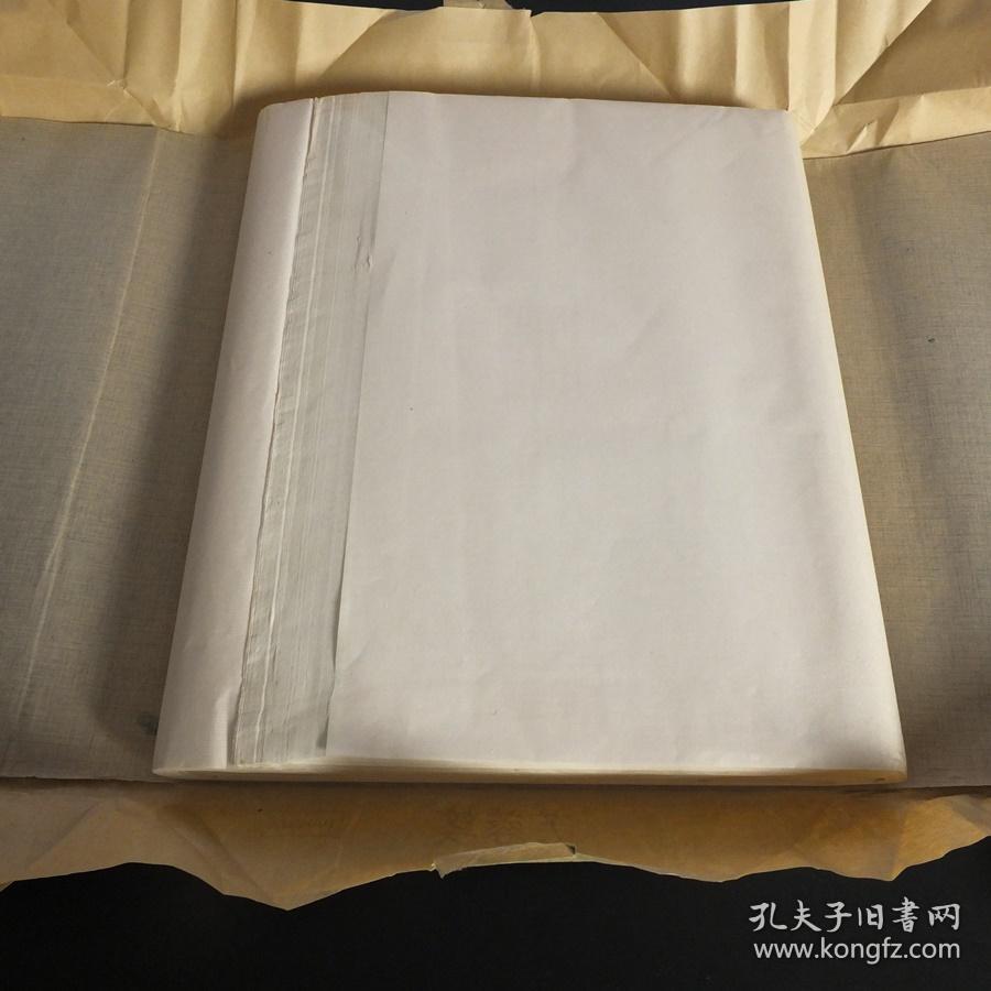 中国出口日本芙蓉笺老宣紙四尺半切100张1刀书画用N1130