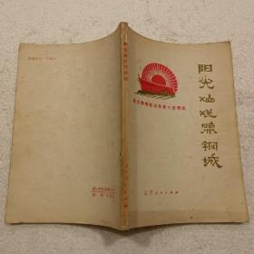 阳光灿烂照钢城(32开)平装本,1975年一版一印
