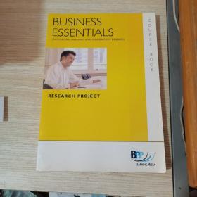 BUSINESS ESSENTIALS COURSE BOOK