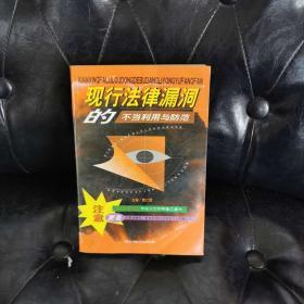 现行法律漏洞的不当利用与防范(上)袁仁辉
