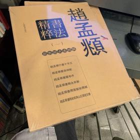 全6册▲赵孟頫书法精粹一(彩色放大本特辑)--{b1645530000095643}