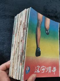 辽宁青年1986年缺第19,21,24期21本合售