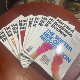 harvard business review 2015  (1-12缺11)   九本合售看图