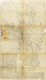 古地图1864 新疆图 清同治六年以后。纸本大小112*64.29厘米。宣纸艺术微喷复制。220元包邮