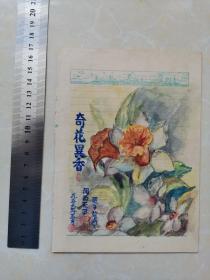 奇花异香  1956年 浔阳手绘