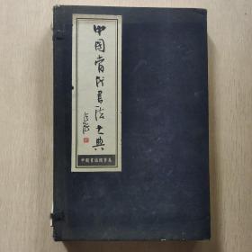 中国当代书法大典 中国书协理事卷 (一函两册)