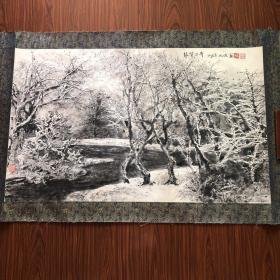 吴成槐山水画 【95厘米x58厘米】