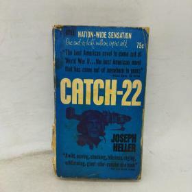 英文原版书 Catch-22 Joseph Heller (三面刷绿) 少见本