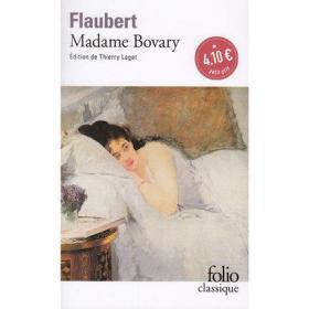 包法利夫人 法文原版 Folio Classique Madame Bovary Gustave Flaubert 法文文学