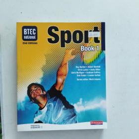 【外文原版】 BTEC National Sport: Book 1
