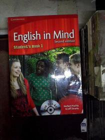 English in Mind Level 1 Students Book with英语在脑中1级学生书