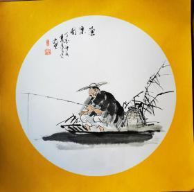 李清达圆卡渔翁直径42+42