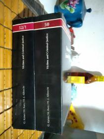 Victims and Criminal Justice 50\51\52【3册合售】