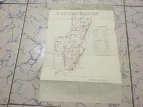 1964年茂名市河西区道路定名图(油印本)