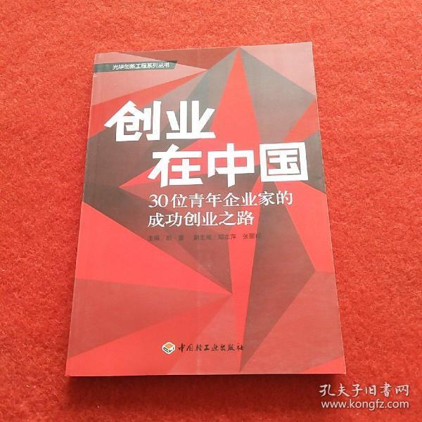 创业在中国:30位青年企业家的成功创业之路