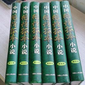 中国艳情孤本小说 全六册